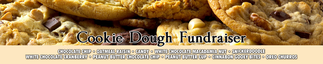 Cookie Dough Fundraiser Promotional Banner