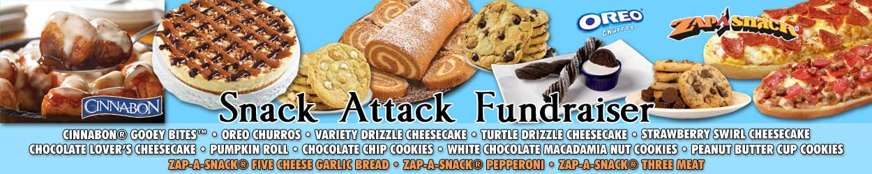 Snack Attack Promotional Banner